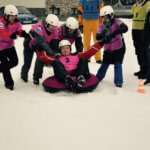 curling team building hiver glisse
